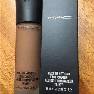 MAC foundation in deep dark
